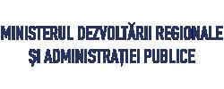 logo ministerul dezvoltarii regionale si administratiei publice